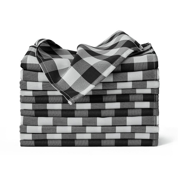"20"" x 20"" Buffalo Checkered Cloth Napkins--KB1902PS20CP-img"