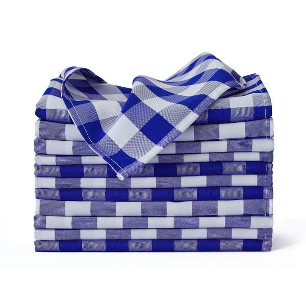 "17"" x 17"" Buffalo Checkered Cloth Napkins--KB1902PS17CP-img"