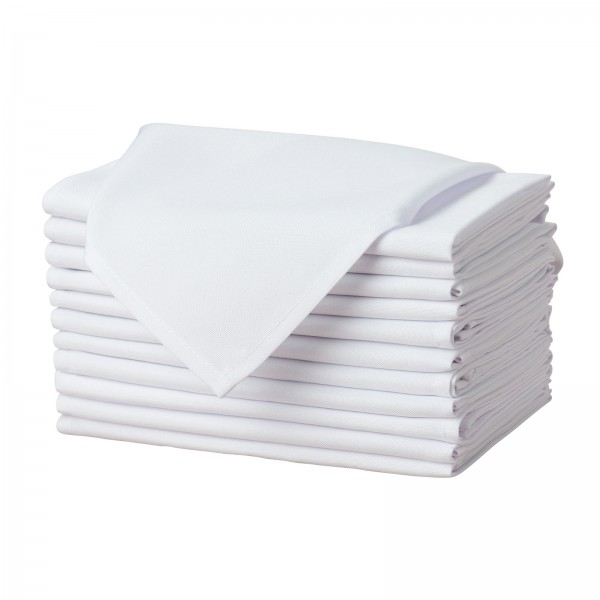 """20"""" x 20"""" Solid Polyester Cloth Napkins--KB1602PS20CP1S-img"""