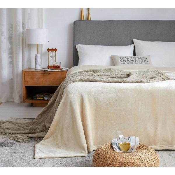 Soft Flannel Fleece Throw Blanket--TZ1801-img