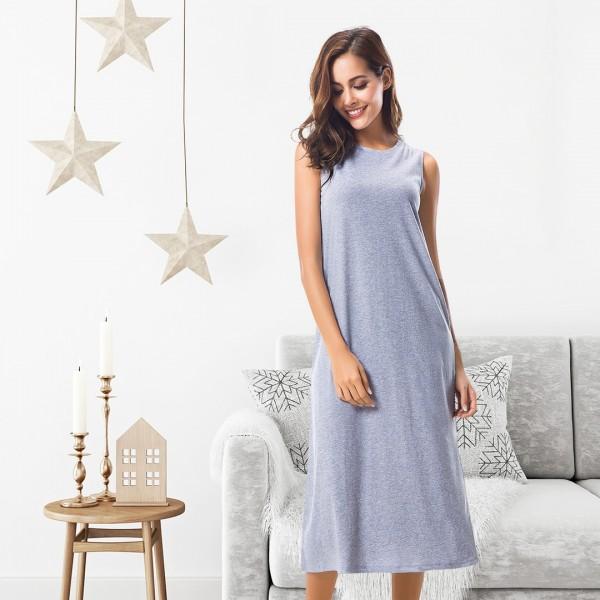 Womens Nightgown Long Soft--JJF1805WCP-img