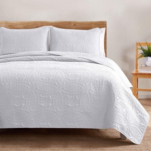 Soft Lightweight Bedspread Quilt Set--CJ1901RCP-img