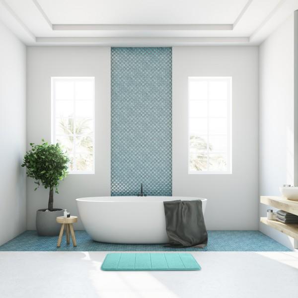 Absorbent Memory Foam Bath Mat