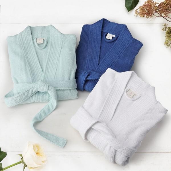 Women's Terry Cotton Bathrobe Long Soft