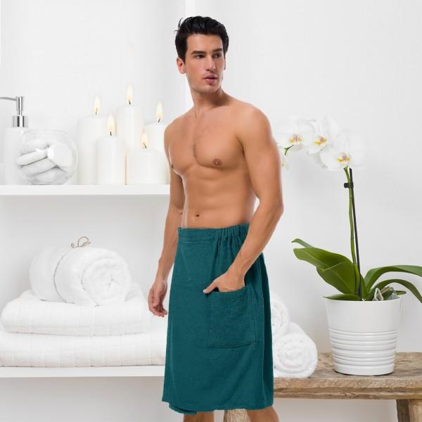 Men's 100% Cotton Bath Wrap--YP1803MCP-img